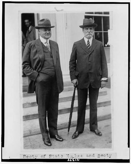 Charles Evans Hughes and Herbert Hoover