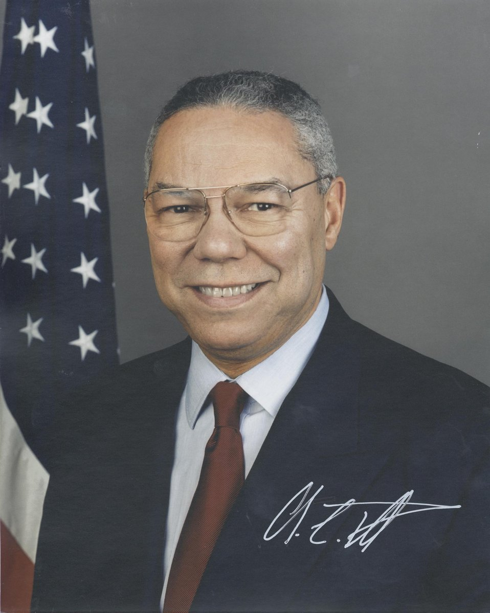 Colin L. Powell, U.S. Secretary of State