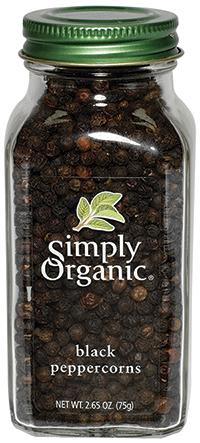 RECALLED – Organic Black Peppercorns