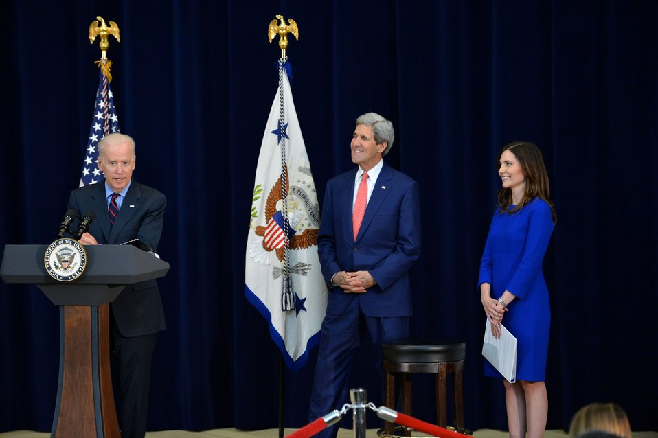Vice President Biden Delivers Remarks at Trophy Tour Event