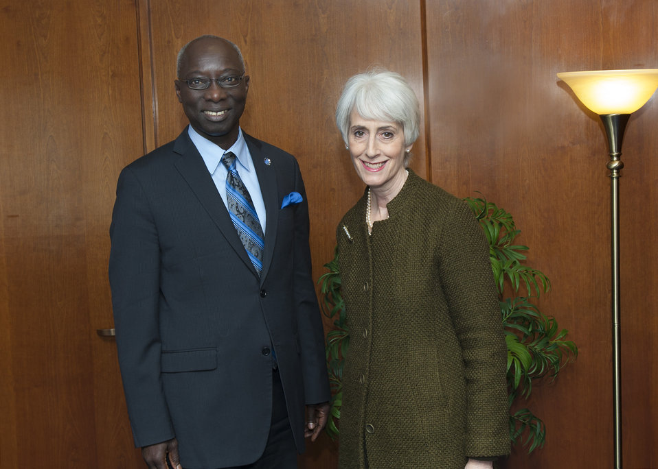 Under Secretary Sherman Meets With UN Special Adviser Dieng