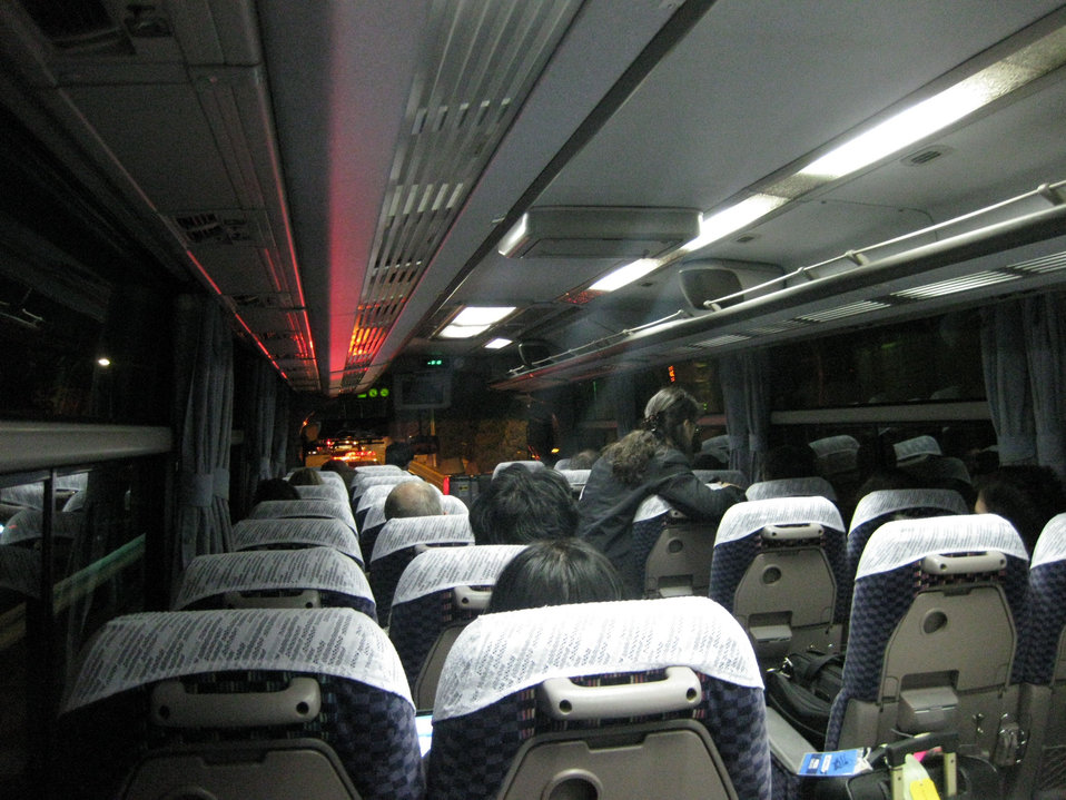 Press Bus in Tokyo