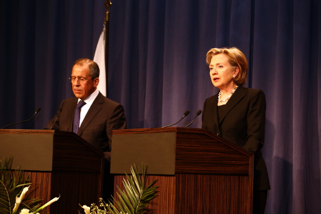 IPress Conference With Russian Foreign Minister