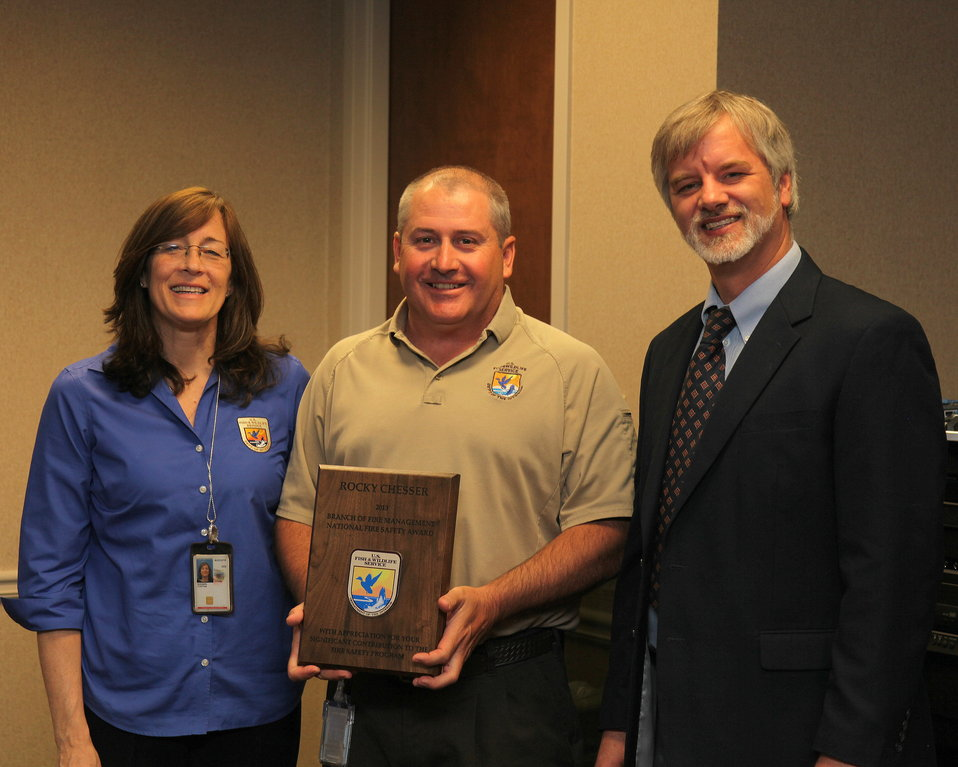 Rocky Chesser wins national award