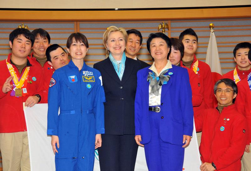 Secretary Clinton in Tokyo