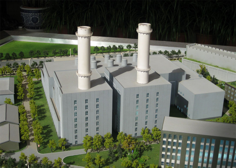 Taiyanggong Gas-Fired Plant Model