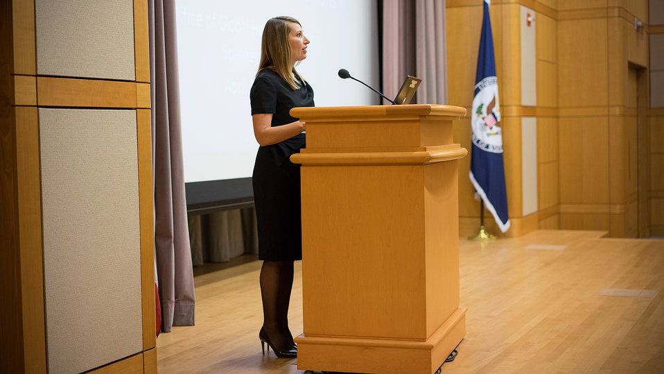 Deputy Secretary Higginbottom Introduces Dr. Vanessa Kerry