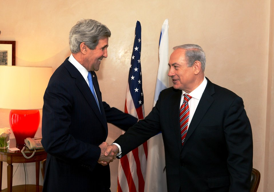 Secretary Kerry Meets With Israeli Prime Minister Netanyahu