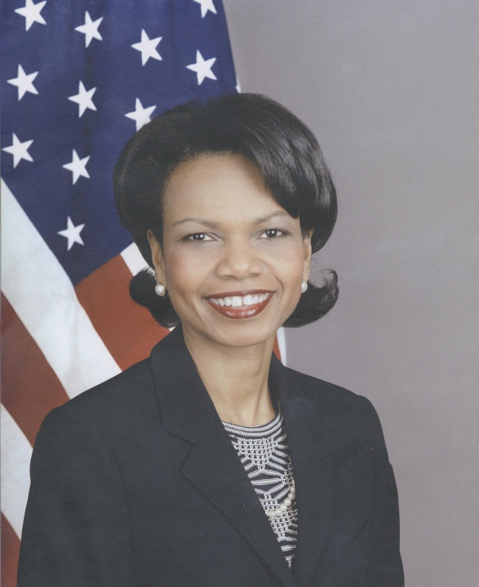 Condoleezza Rice, U.S. Secretary of State