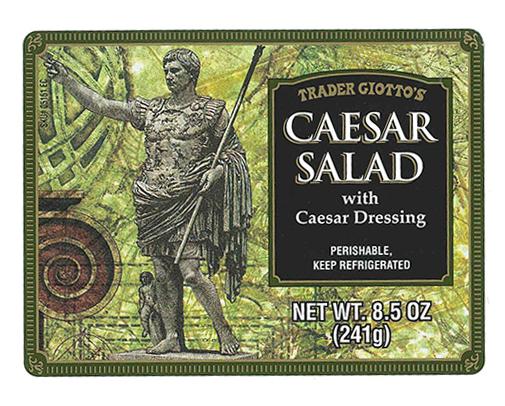 RECALLED – Caesar Salad with Caesar Dressing