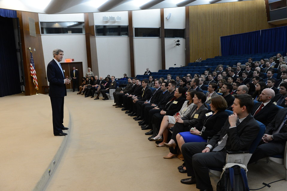 Secretary Kerry Delivers Remarks at a Foreign Service Officer Orientation