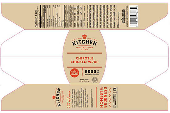 RECALLED – Chipotle Chicken Wrap