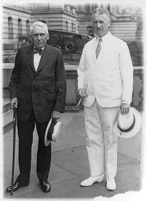 Henry Stimson and Frank Kellogg