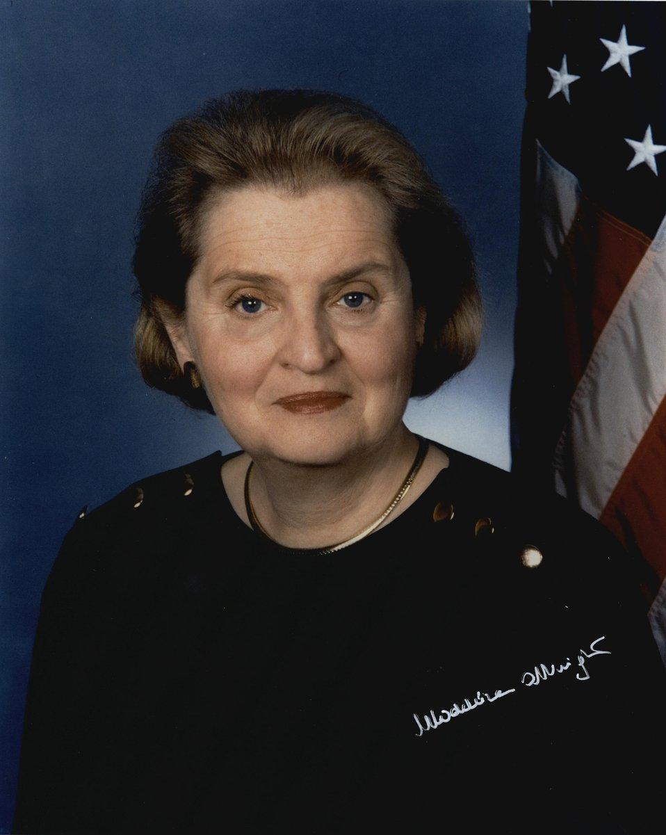 Madeleine Korbel Albright, U.S. Secretary of State