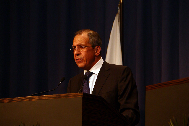 Press Conference With Russian Foreign Minister