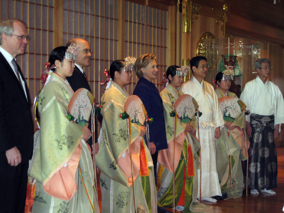 Meiji Shrine Ceremony