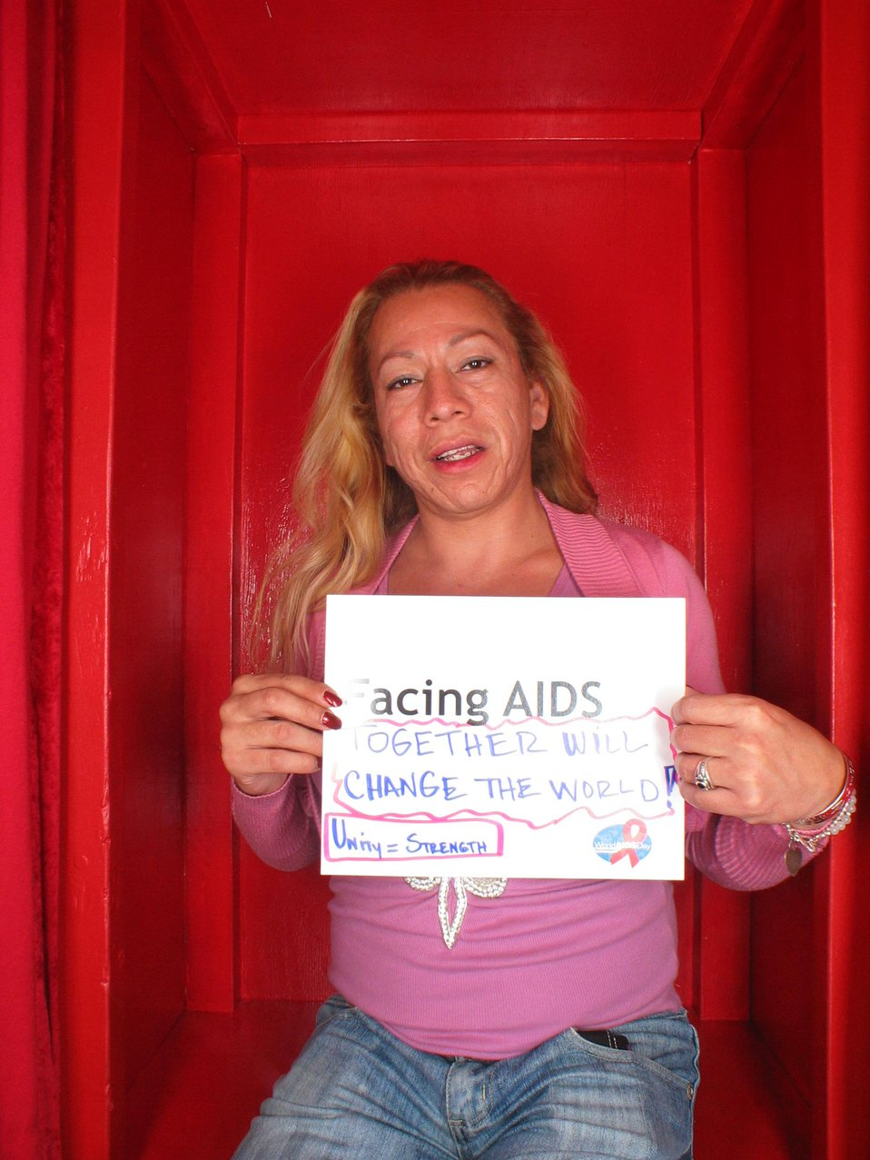 Facing AIDS together to change the world.