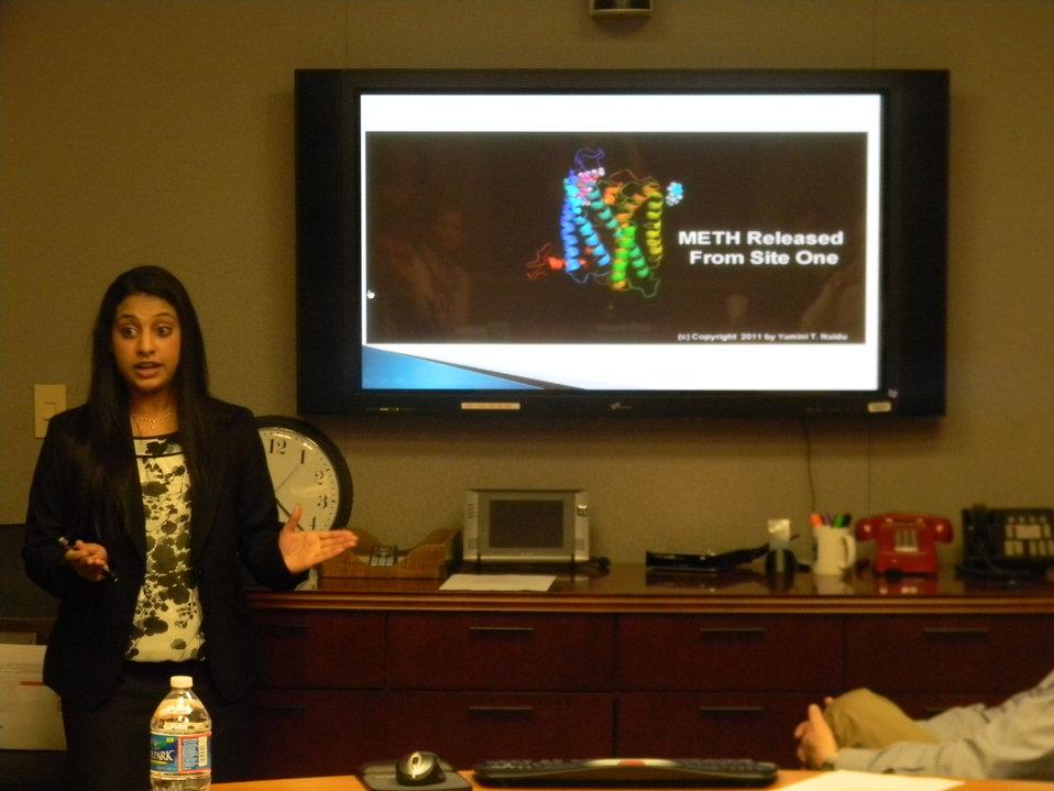 Yamini Naidu presents at NIDA