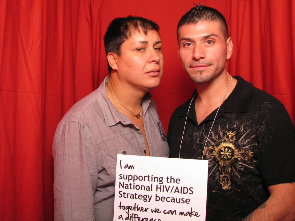 I am supporting the National HIV/AIDS Strategy because together we can make a difference.