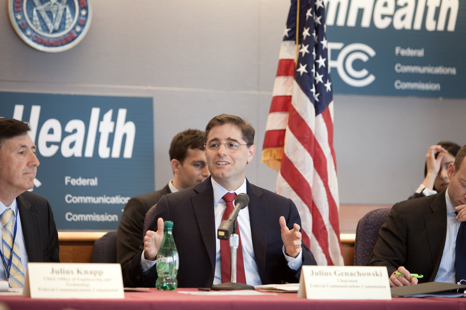 FCC Chairman Genachowski Speaking About mHealth