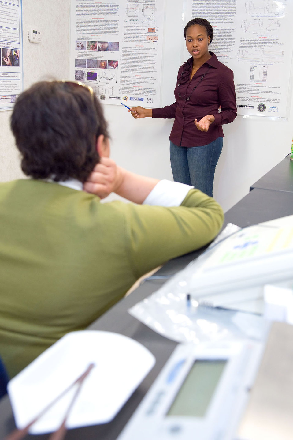 November, 2009 EPA Administrator Lisa Jackson learns about student projects firsthand