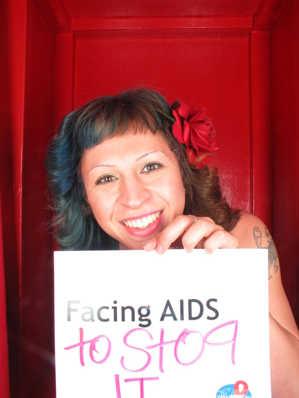 Facing AIDS to stop it