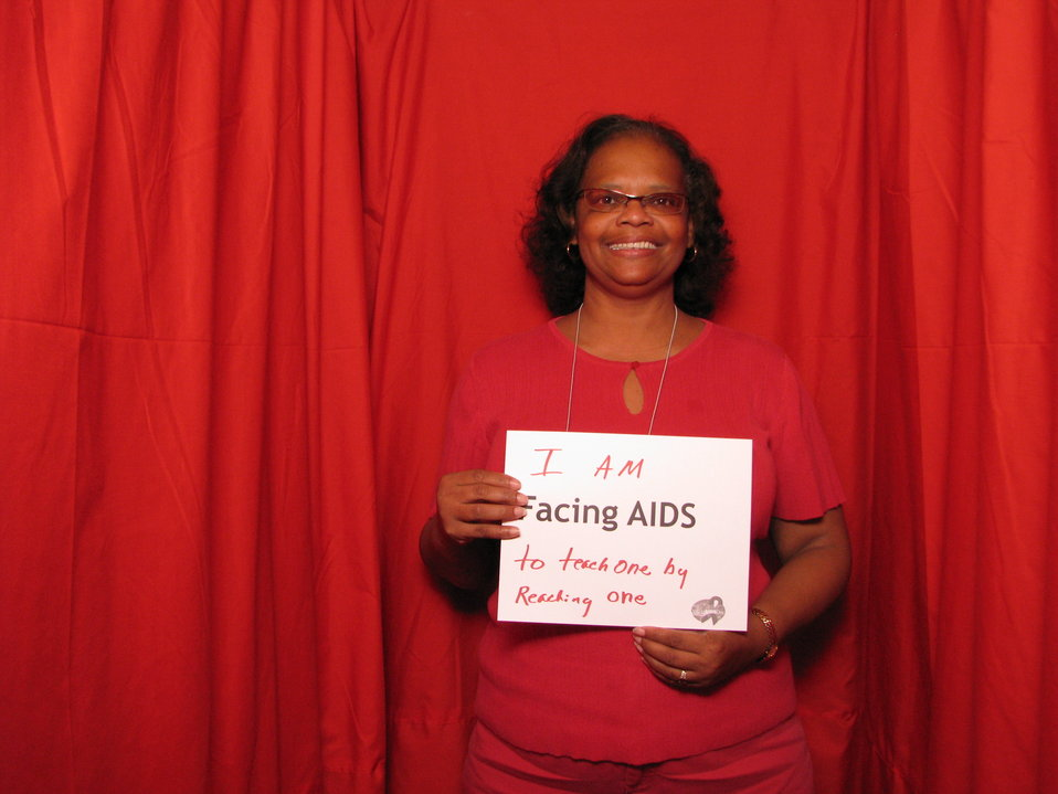 I AM FACING AIDS to teach one by reaching one.