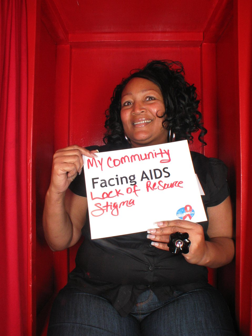 My community is Facing AIDS lack of resources and stigma.