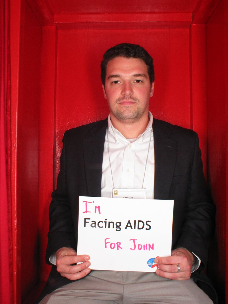 I'm Facing AIDS for John