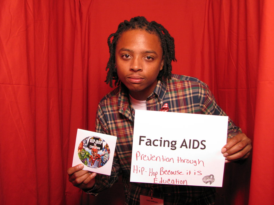 FACING AIDS prevention through hip-hop because it is education.