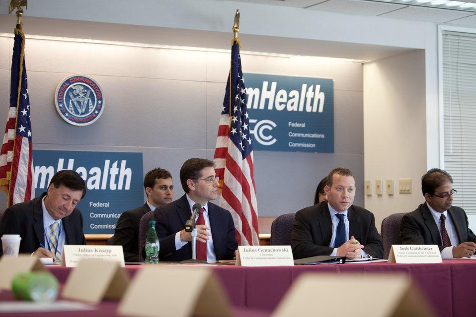 FCC Chairman Genachowski Speaking About mHealth