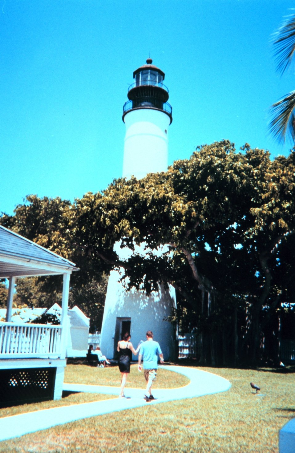 The lighthouse at Key West.