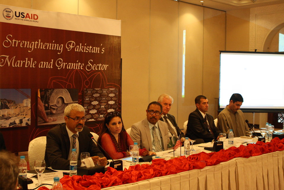 First Consultative Meeting with Marble and Granite Sector Stakeholders 3