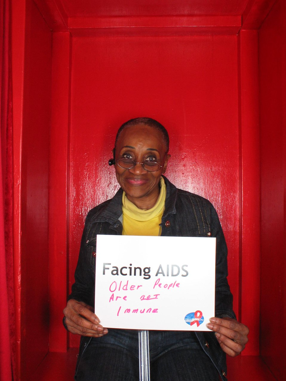 Facing AIDS older people are not immune