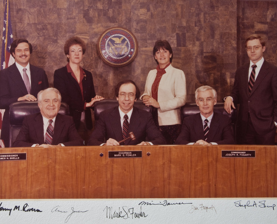 [Federal Communications Commission Photo]