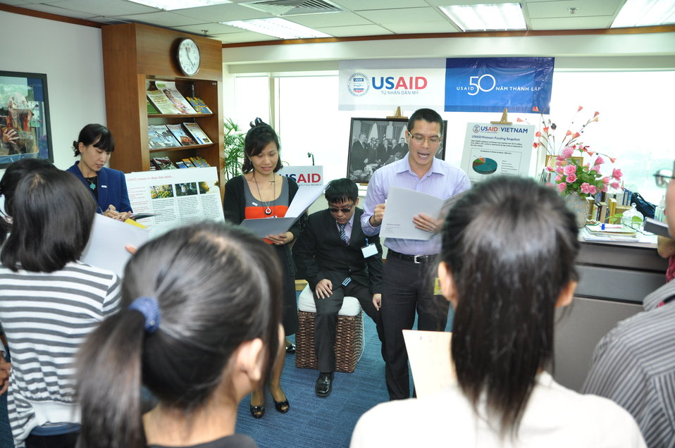 USAID Vietnam Open House 50th Anniversary, Hanoi