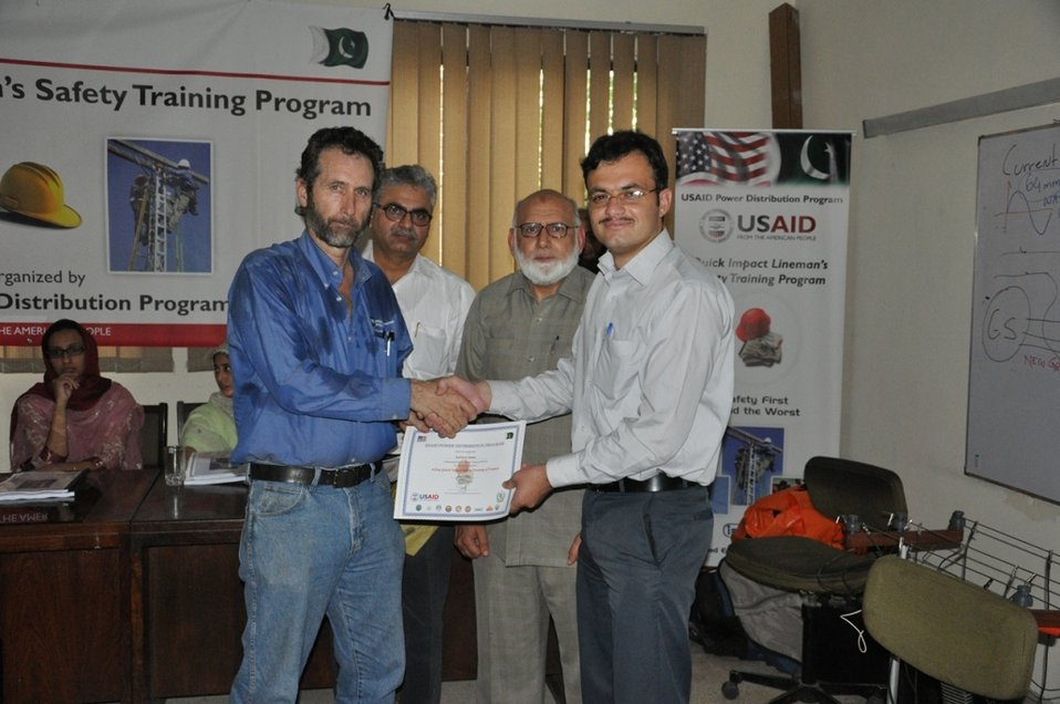 Quick Impact Safety Training Program at Wapda Staff College
