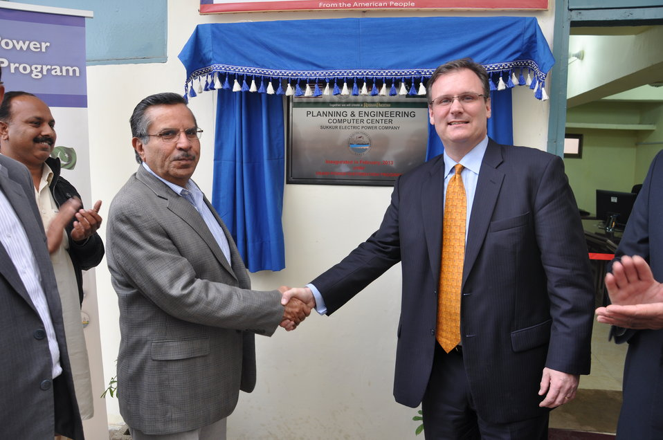 USAID provides State-of-the-Art Planning and Engineering Equipment to SEPCO