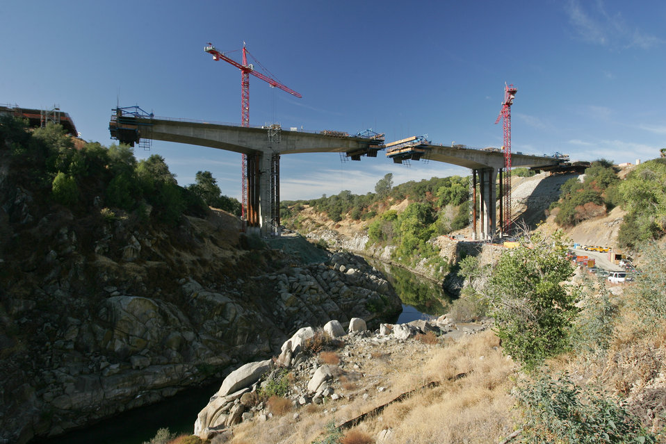 Bridge Segments and Piers