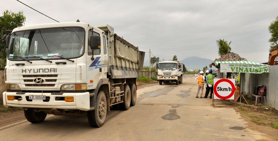 Danang AirpSite Preparation for Environmental Remediation of Dioxin Contamination at Danang Airportort Remediation Site Visit