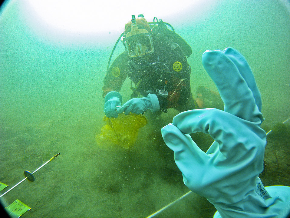 'Talking' underwater to safely collect samples