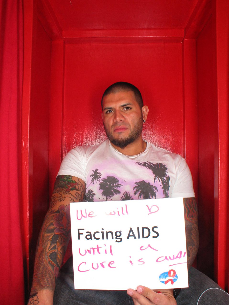 We will b Facing AIDS until a cure is found.