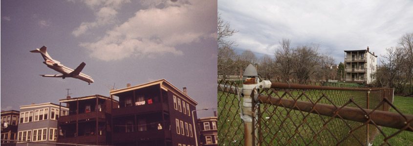 East Boston, MA 1973 and 2012 by Michael P. Manheim