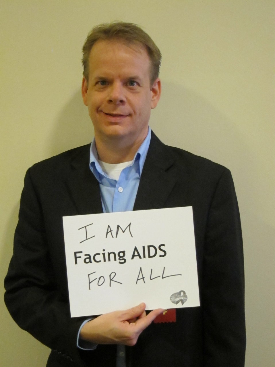 I am FACING AIDS for all.