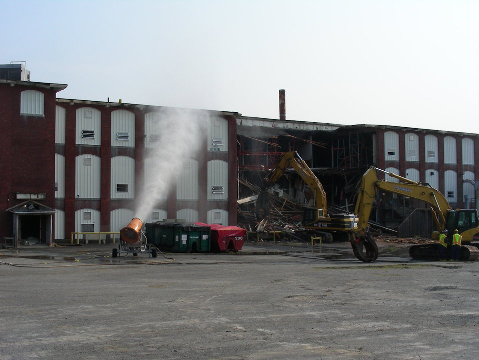 July 20, 2011 Day 1 of the Aerovox Demolition