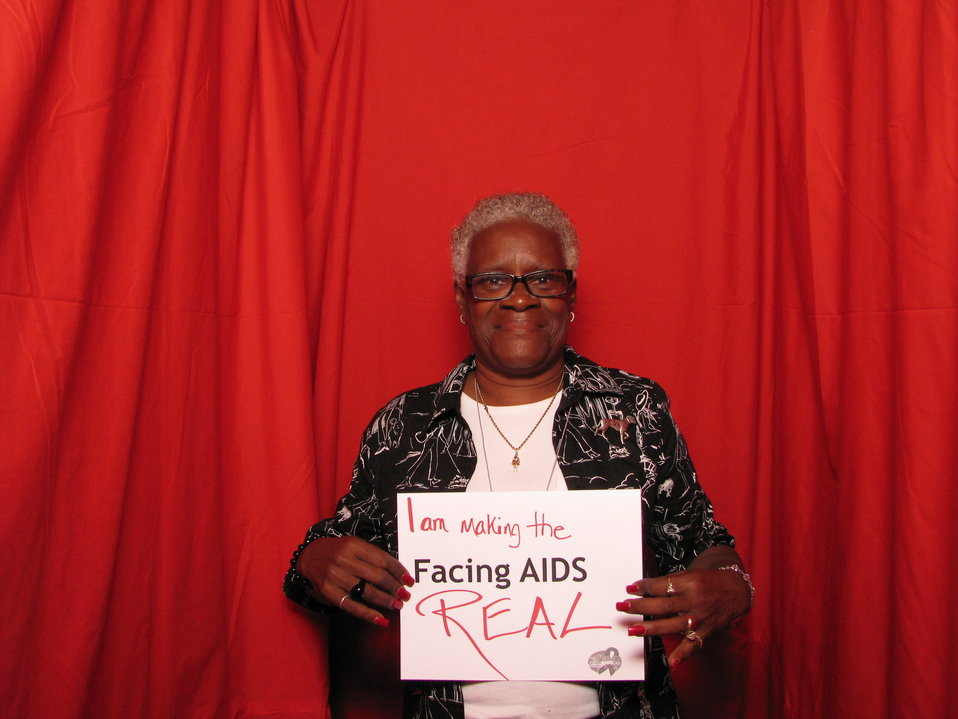 I am making the FACING AIDS REAL.