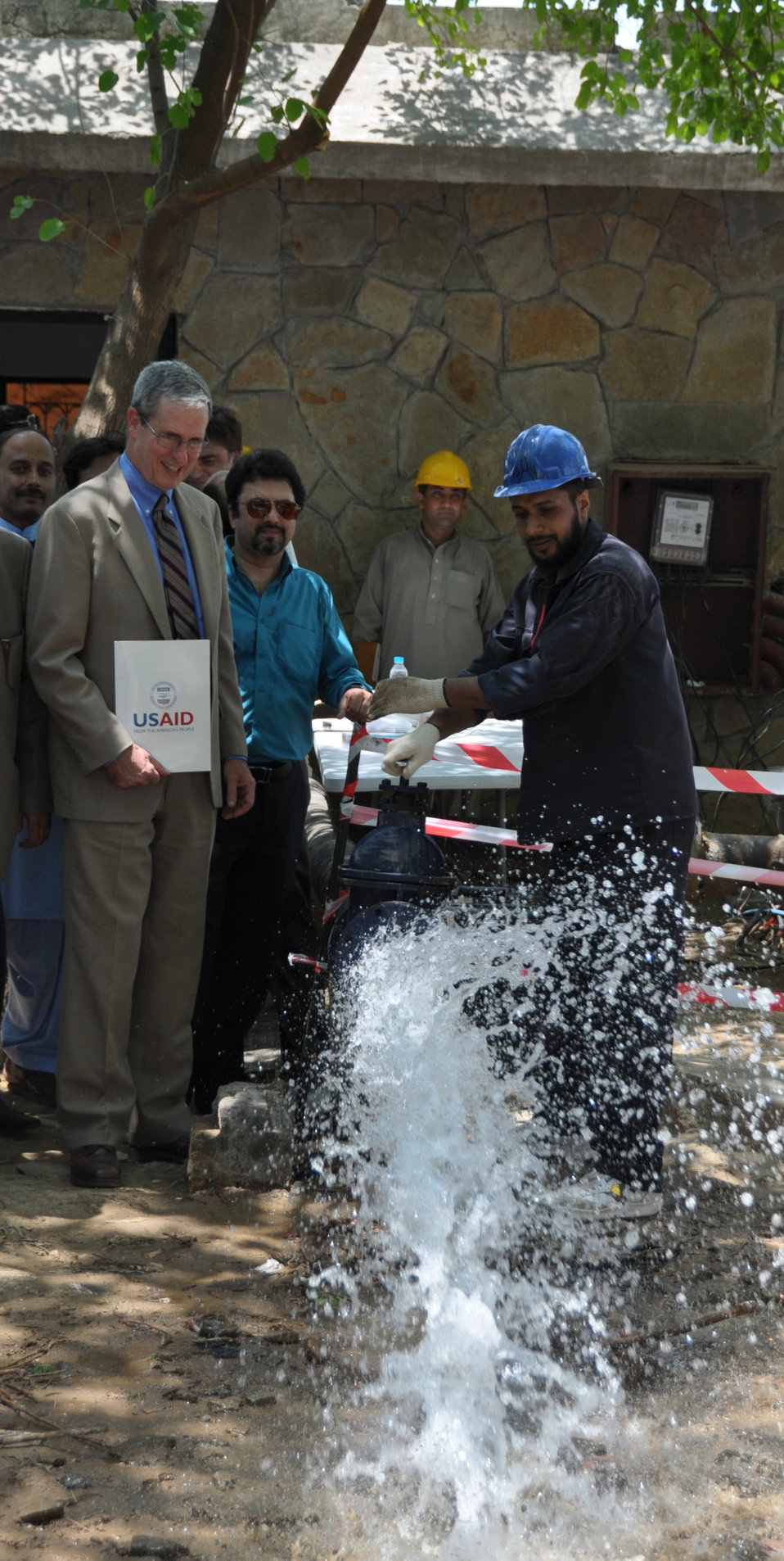 USAID funds replacement of 187 CDA Tubewell Pumps