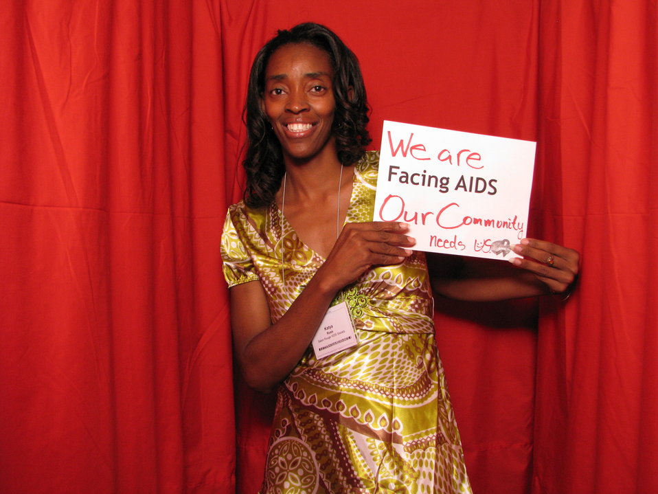 We are FACING AIDS Our Community needs us.