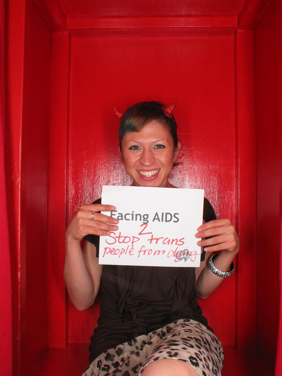 Facing AIDS 2 stop people from dying.