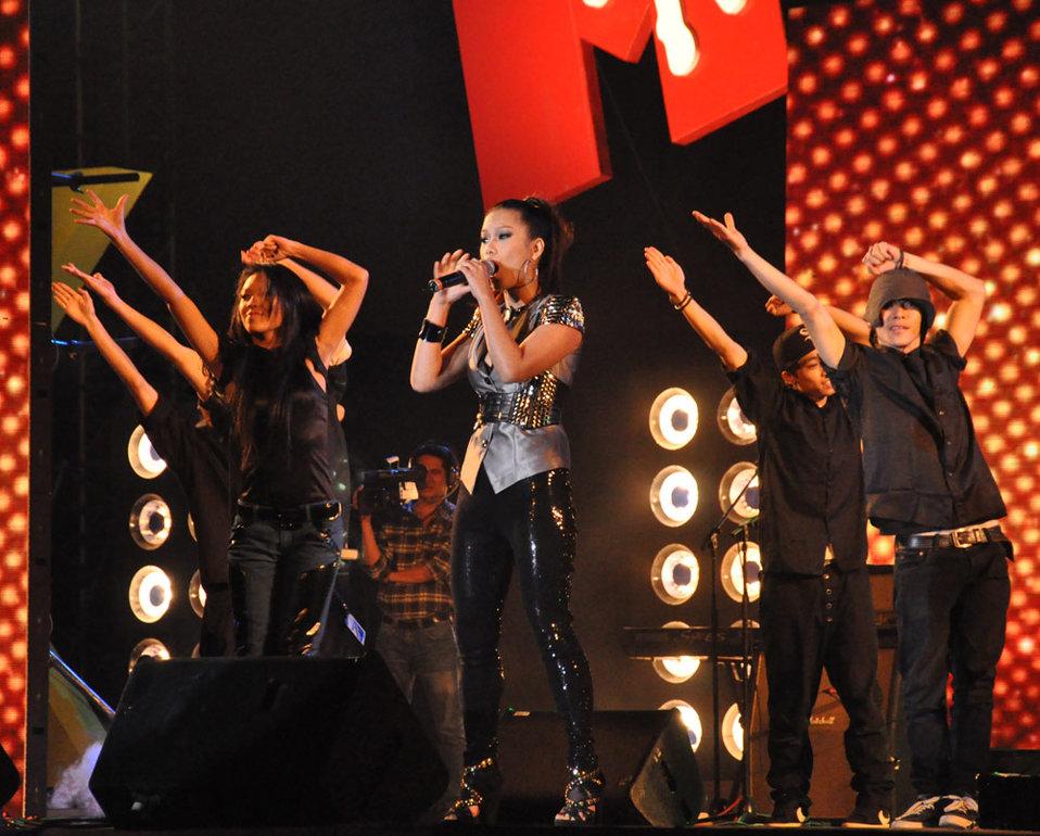MTV EXIT Hanoi concert March 27, 2010